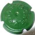 Champagne capsule 56 Vert