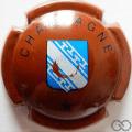 Champagne capsule 459 Marron