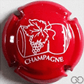Champagne capsule 629.a Rouge 32 mm