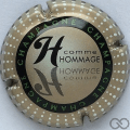 Champagne capsule 799.j H. Hommage, verso or