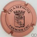 Champagne capsule 471 Rosé et noir