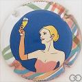 Champagne capsule C116.c Polychrome
