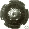 Champagne capsule 115.i Métal, lettres épaisses, près de l'étoile