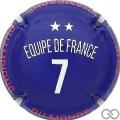 Champagne capsule 1027.c Equipe de France 7