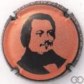 Champagne capsule 970.k Honoré De Balzac