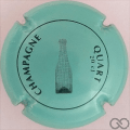 Champagne capsule C4 Le quart, vert