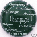 Champagne capsule 590.b Vert, avec cercle