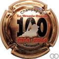 Champagne capsule 873.f Plaqué or