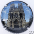 Champagne capsule 1087 Cathédrale de Reims