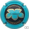 Champagne capsule 34 Bleu-turquoise