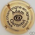 Champagne capsule 11 Doré à l'or fin