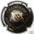 Champagne capsule 02 Noir et or