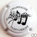 Champagne capsule 21 Blanc et noir