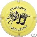 Champagne capsule 16 Jaune et noir