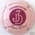 Champagne capsule  Rose et bordeaux, sans Vinay