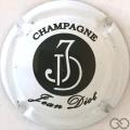 Champagne capsule  Blanc et noir, sans Vinay