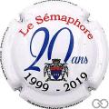 Champagne capsule 40 20 ans de Sémaphore