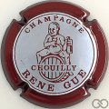Champagne capsule 6.b Contour bordeaux métallisé