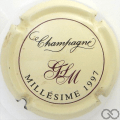Champagne capsule 15 Millésime 1997
