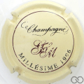 Champagne capsule 14 Millésime 1996