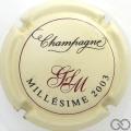 Champagne capsule 19 Millésime 2003