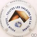 Champagne capsule 21.e Toutes les valeurs de la terre