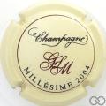 Champagne capsule 20 Millésime 2004