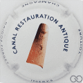 Champagne capsule 21.d Canal restauration antique