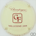 Champagne capsule 22 Millésime 2008