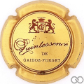 Champagne capsule 9 Or et rouge