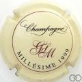 Champagne capsule 16 Millésime 1999
