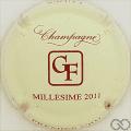 Champagne capsule 22.a Millésime 2011