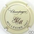 Champagne capsule 20.b Millésime 2007