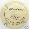 Champagne capsule 17 Millésime 2000