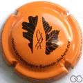Champagne capsule A2.b Orange et noir
