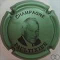 Champagne capsule 16.b Vert métallisé et noir