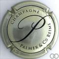 Champagne capsule 18.d Métal et noir