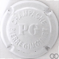 Champagne capsule 15.g Estampée blanc