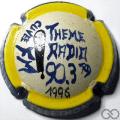 Champagne capsule  Theme Radio 90.3