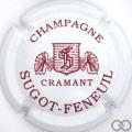 Champagne capsule 1 Blanc et marron