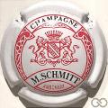 Champagne capsule 7 Blanc, écusson rouge
