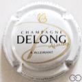 Champagne capsule 2 Blanc, noir et or
