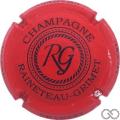 Champagne capsule 6.a Rouge et noir, police différente sur contour