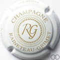 Champagne capsule 5 Blanc et or