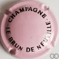 Champagne capsule 24.b Rose et noir