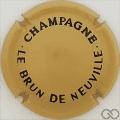 Champagne capsule 24.c Beige et noir