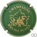 Champagne capsule 1 Vert et or pâle