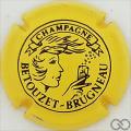 Champagne capsule 12.b Jaune et noir