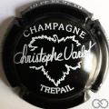 Champagne capsule  Noir et blanc
