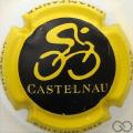Champagne capsule 8.a Noir, contour jaune 2015